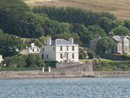 Rosemount House sits on the shores of Campbeltown Loch - Click here to see larger image